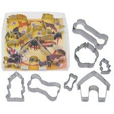 7 Piece Dog Bone Cookie Cutter Set