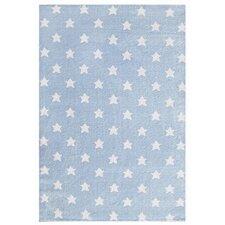 Kinderteppich Little Stars in Blau