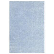 Kinderteppich Unifarben in Blau