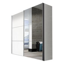 Schwebetürenschrank Solutions Bianco, 216 cm H x 225 cm B x 68 cm T