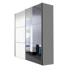 Schwebetürenschrank Solutions Bianco, 217 cm H x 175 cm B x 68 cm T