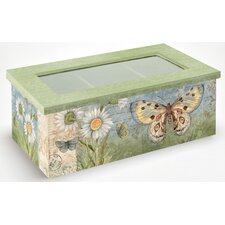 Butterfly Daisy Tea Box