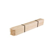 Wooden Garden Stakes (Set of 25)