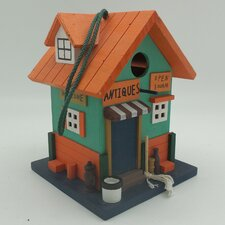 Antiques Store Hanging Birdhouse