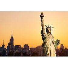 Acrylglasbild New York Skyline, Fotodruck