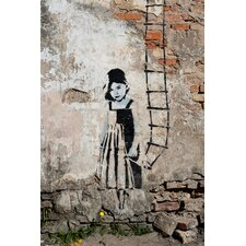 Leinwandbild Ladder Child, Fotodruck