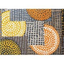 Teppich Ethno Pop in Orange