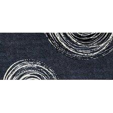 Teppich Swirl in Grau
