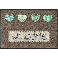 Fußmatte Welcome Hearts