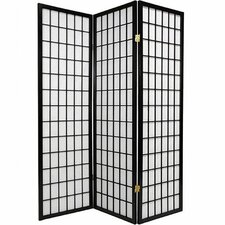 "70"" x 51"" Gia 3 Panel Room Divider"