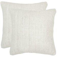 Woroud Silk Throw Pillow (Set of 2)