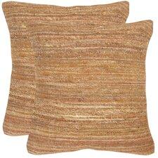Hory Silk Throw Pillow (Set of 2)