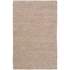 Khalifa Hand-Woven Rust/Gray Area Rug