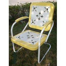 Valkenswaard Metal Retro Chair