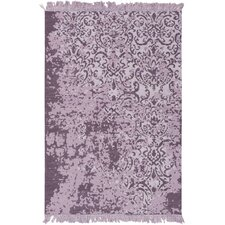 Willemstad Hand-Woven Purple Area Rug