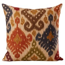 Hartland Ikat Cotton Throw Pillow