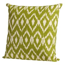 Leif Ikat Cotton Throw Pillow