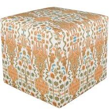Alaoui Cotton Cube Ottoman