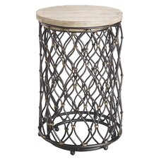 Snows Two Piece Nested Round End Table
