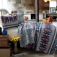 Zagora 3 Piece Coverlet Set