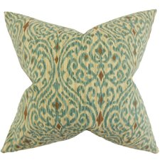 Mauritane Ikat Cotton Throw Pillow