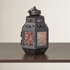 Rylan Glass/Metal Lantern