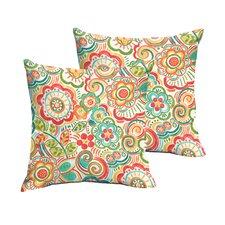 Lucie Indoor/Outdoor Throw Pillow (Set of 2)