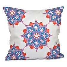Oliver Rhapsody Geometric Outdoor Throw Pillow