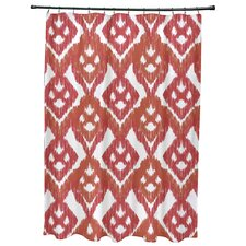 Oliver Hipster Geometric Print Shower Curtain