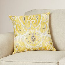 Rayne Ikat Cotton Throw Pillow