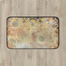 Willow Antiqued Blooms Kitchen Mat