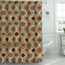 Zemamra Fabric Weave Textured Shower Curtain Set