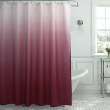 Tighdouine Waffle Fabric Weave Shower Curtain