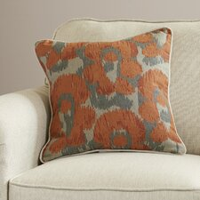 Rhiannon Jaguar Print Linen Throw Pillow