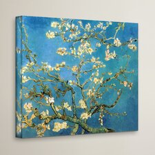 Almond Blossom' by Vincent Van Gogh Painting Print on Canvas