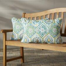 Zutphen Corded Indoor/Outdoor Lumbar Pillow (Set of 2) (Set of 2)