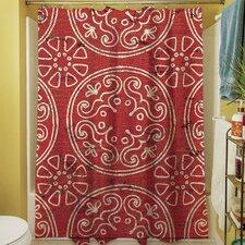 Lankershim Medallion Shower Curtain