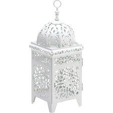 Jazzerus Intricate Ivory Candle Lantern