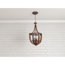 Cloey 4 Light Candle Chandelier