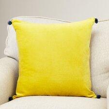 Velvet Cotton Throw Pillow