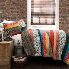 Zakaria Stripe 3 Piece Quilt Set