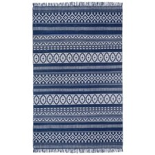 Siya Hand-Loomed Blue Area Rug