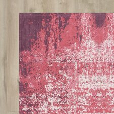 Issam Red Area Rug