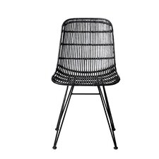 Acmetonia Braided Rattan Side Chair