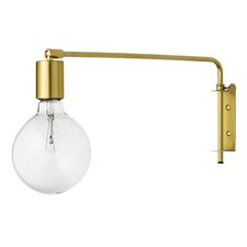 Abrahams 1 Light Metal Wall Lamp