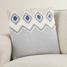 Camden Frayed Look Cotton Throw Pillow (Set of 6)