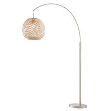 """La Capture 76"""" Arched Floor Lamp"""