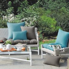 Azura Outdoor Polyester Throw Pillow