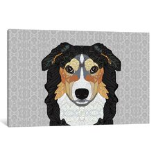Zecke Mountain Dog Graphic Art on Wrapped Canvas