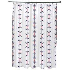 Willa Jodhpur Stripe Print Shower Curtain